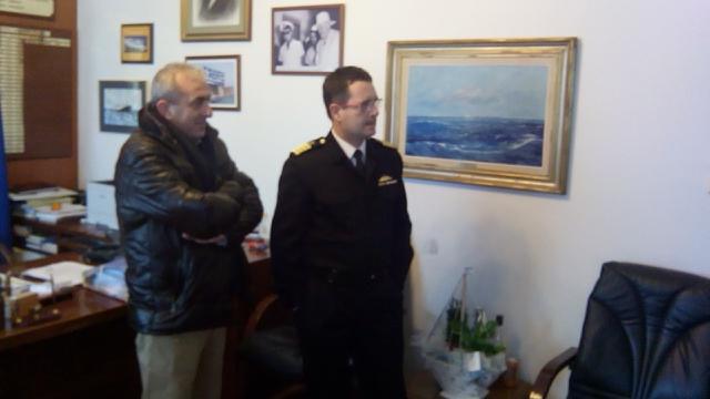Επίσκεψη του Σ. Βαρδάκη στο Λιμενικό Σώμα