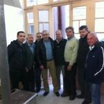 επίσκεψη του Σ. Βαρδάκη στις Γούβες Ηρακλείου