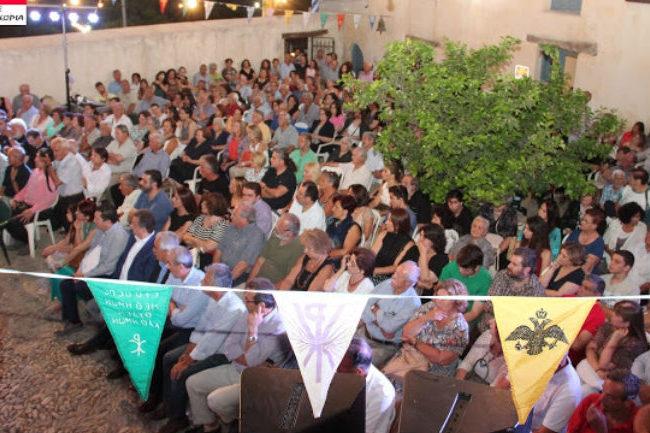 Φωτογραφίες από την εκδήλωση για τα εγκαίνια στη
