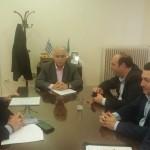 Επίσκεψη δημάρχων στον Υπουργό Εσωτερικών κ. Μπαλαφα