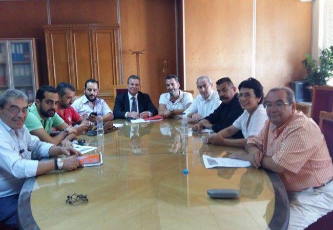 Συνάντηση του Βαρδάκη Σωκράτη με τον Υφυπουργό Κοινωνικών Ασφαλίσεων και το ΕΣΤΕΠ