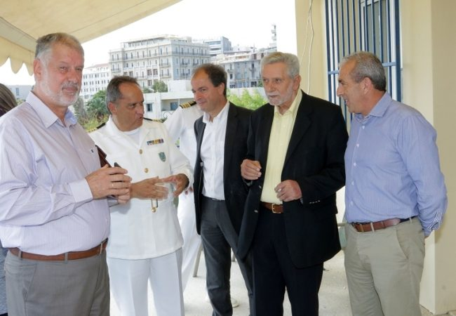 Από την συνάντηση του κ. Δρίτσα με τον Πρόεδρο του ΟΛΗ
