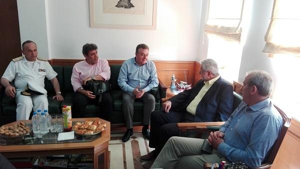 Από την συνάντηση του κ. Δρίτσα με τον Περιφερειάρχη Κρήτης