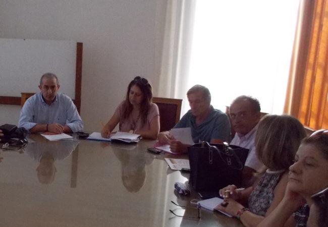 Συνάντηση με τον Συμβολαιογραφικό Σύλλογο Εφετείου Κρήτης για το επικείμενο νομοσχέδιο για τον Έλεγχο και την Προστασία του Δομημένου Περιβάλλοντος