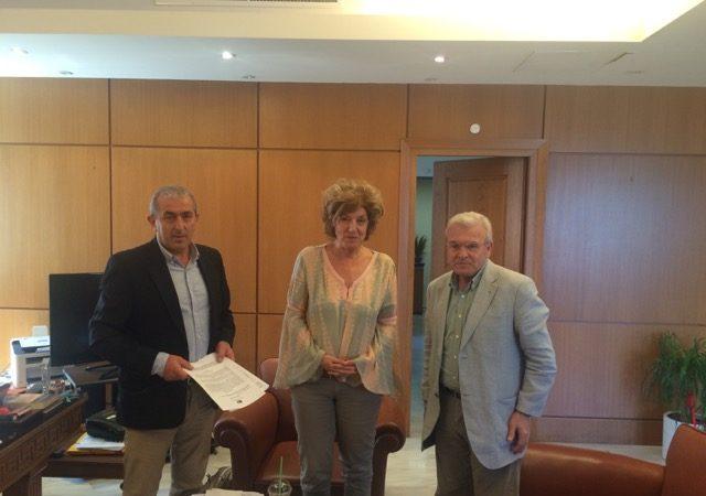 Συνάντηση με την Αναπληρώτρια Υπουργό Παιδείας κα Αναγνωστοπούλου και τον Βουλευτή Λασιθίου, Μανόλη Θραψανιώτη