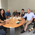 Συνάντηση Σωκράτη Βαρδάκη με τον σύλλογο εργαζομένων ΙΚΑ – ΕΤΑΜ Ανατολικής Κρήτης