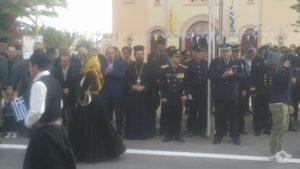 Ο Σωκράτης Βαρδάκης, παρευρέθηκε στην δοξολογία που τελέστηκε στην Άγιο Νικόλαο Αλικαρνασσού, καθώς και στην παρέλαση της Δημοτικής ενότητας Αλικαρνασσού