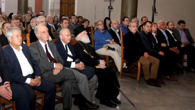 Στην τελετή απονομής του Βραβείου Νίκος Καζαντζάκης 2016, παρευρέθηκε ο Σωκράτης Βαρδάκης