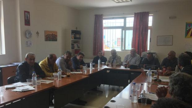 Συνάντηση Βαρδάκη Σωκράτη με τους Οικιστές δυτικών προαστίων