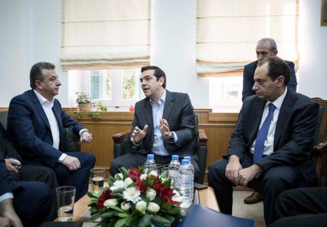 Επίσκεψη Τσίπρα στην Περιφέρεια Κρήτης