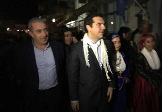 Επίσκεψη Τσίπρα στην Γέργερη