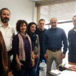 Συνάντηση του Βαρδάκη Σωκράτη με εκπροσώπους εργαζομένων σε Δήμους