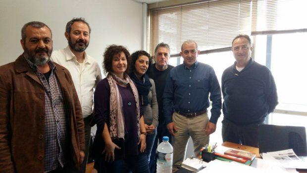 Συνάντηση Σωκράτη Βαρδάκη με εκπροσώπους εργαζομένων σε Δήμους
