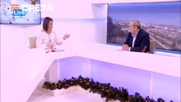 Συνέντευξη Βαρδάκη Σωκράτη στην Αντιγόνη Ανδρεάκη (TV Creta)