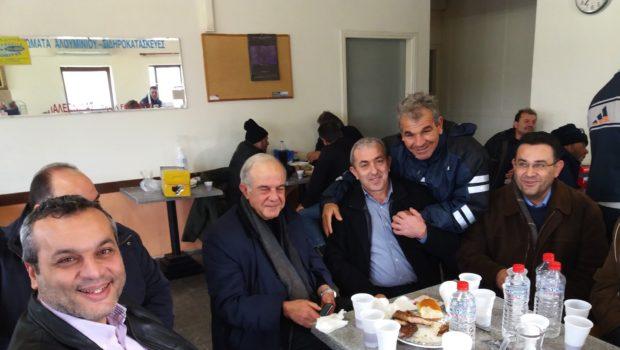 Ευχές του Σωκράτη Βαρδάκη στους εργαζόμενους στην καθαριότητα του Δήμου Ηρακλείου