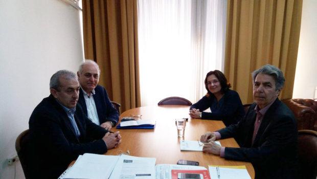 Συνάντηση Σωκράτη Βαρδάκη με τον γ.γ. Αγροτικής Πολιτικής και Διαχείρισης Κοινοτικών Πόρων