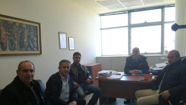Συνάντηση Βαρδάκη με τον Γενικό Περιφερειακό Αστυνομικό Διευθυντή Κρήτης Υποστράτηγο Λαγουδάκη