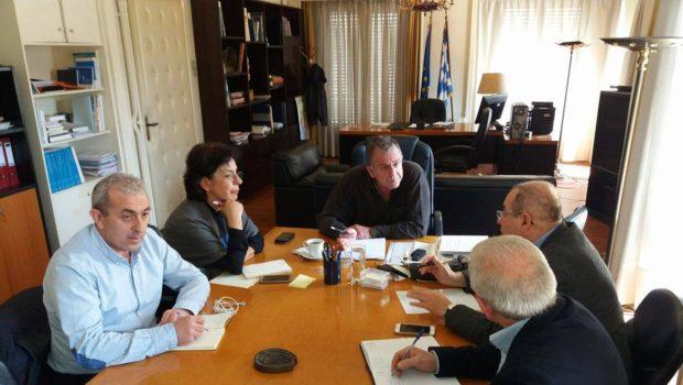 Συνάντηση Βουλευτών ΣΥΡΙΖΑ Κρήτης με τον Υπουργό Μεταναστευτικής Πολιτικής