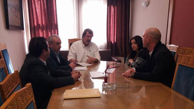 Συνάντηση με Αναπληρωτή Υπουργό Υγείας για θέματα παροχής υγείας της Μεσαράς