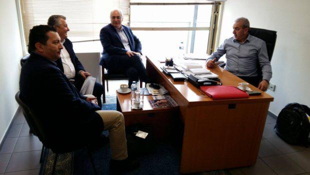 Συνάντηση Βαρδάκη Σωκράτη με Δημάρχους του Νομού Ηρακλείου για τα τρέχοντα ζητήματα των Δήμων