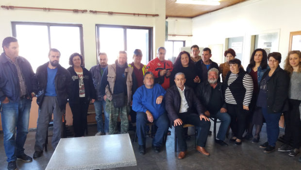 Συνάντηση με τους εργαζόμενους στην καθαριότητα του Δήμου Ηρακλείου