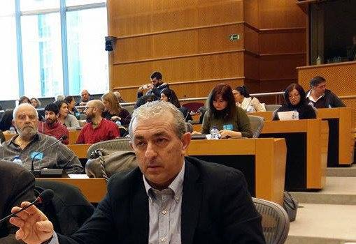 Ο Σωκράτης Βαρδάκης χαιρετίζει την Παγκρήτια σύσκεψη των ενεργεία και αποστράτων Σωμάτων Ασφαλείας και Ενόπλων Δυνάμεων Κρήτης