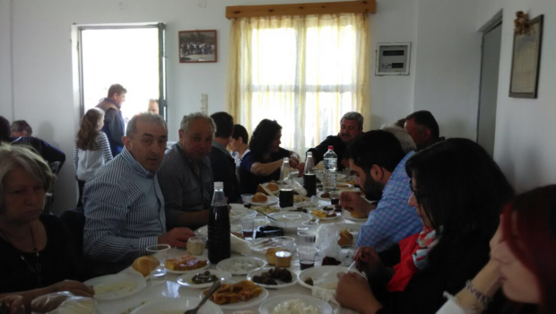 Με τους Οικοδόμους του Κρουσώνα ο Σωκράτης Βαρδάκης στον ετήσιο εορτασμό τους