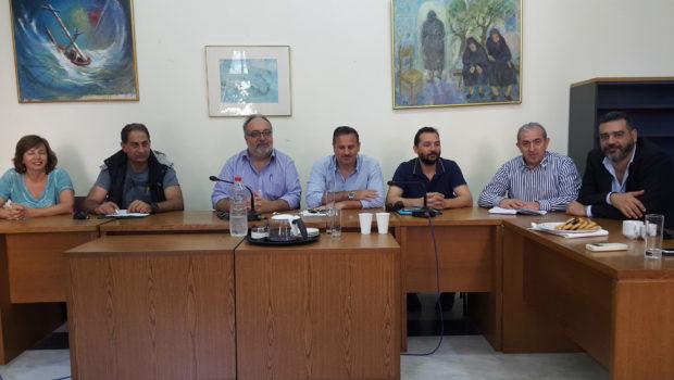 Συνάντηση Σωκράτη Βαρδάκη με το προεδρείο του ΤΕΕ-ΤΑΚ
