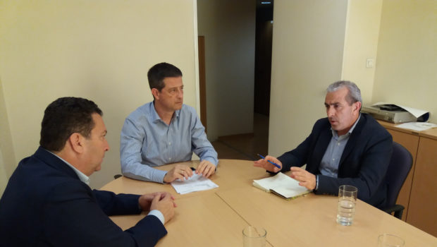 Συναντήσεις Σωκράτη Βαρδάκη για αναπτυξιακά έργα και αξιοποίηση ακινήτων του δημοσίου