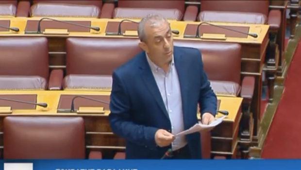 Το κόκκινο σκαθάρι στη βουλή με ερώτηση του Σωκράτη Βαρδάκη