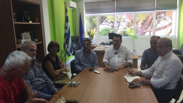 Συνάντηση με Δήμαρχο και Αντιδήμαρχους Χερσονήσου