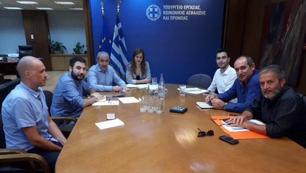 Σ. Βαρδάκης: «Άμεση αντιμετώπιση των εργασιακών ζητημάτων του σωματείου οδηγών Ερμής»