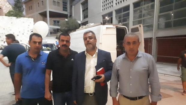 Συνάντηση Υπουργού Επικρατείας με τον Σ. Βαρδάκη και το Σωματείο Πυροσβεστών Ηρακλείου