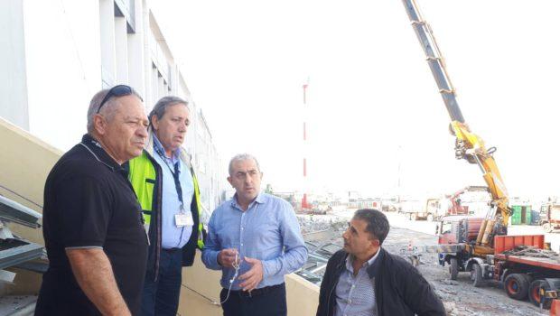 Με γοργούς ρυθμούς τα έργα στο αεροδρόμιο Ηρακλείου