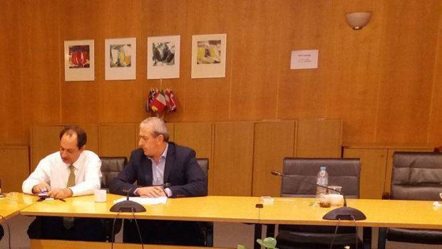 Ικανοποίηση Σωκράτη Βαρδάκη για την υπογραφή σύμβασης του έργου του ημικόμβου στην περιοχή Κοκκίνη Χάνι