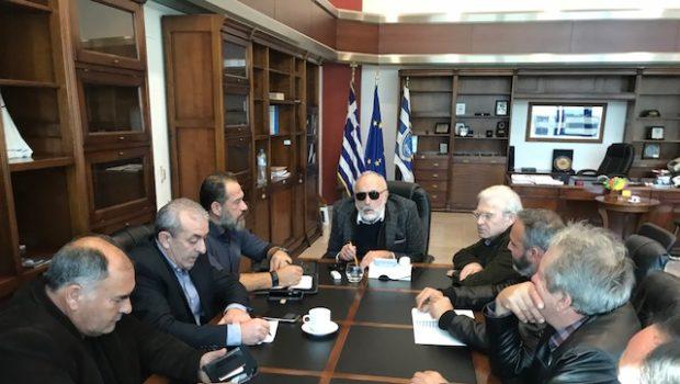 Συνάντηση Βαρδάκη και Θραψανιώτη με τον Υπουργό Ναυτιλίας για την διακίνηση αγροτικών προϊόντων