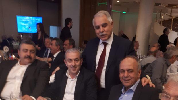 Στην κοπή της βασιλόπιτας της Κυνηγετικής Συνομοσπονδίας Ελλάδος ο Σ. Βαρδάκης
