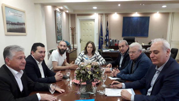 Συνάντηση Υφυπουργού Οικονομικών και Σωκράτη Βαρδάκη με Δημάρχους