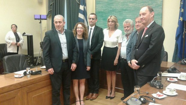 Στην Βουλή αντιπροσωπεία από το Κοινοβούλιο του Βελγίου – συνάντηση με εκπροσώπους της Ομάδας Φιλίας Ελλάδας- Βελγίου
