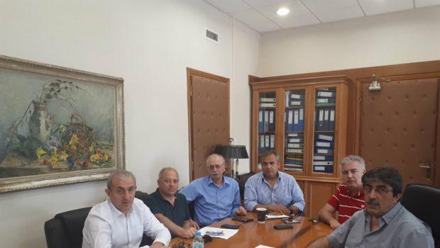 Συνάντηση  Βαρδάκη με τον διοικητή της ΥΠΑ για θέματα του αεροδρομίου Ν. Καζαντζάκης