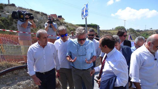 Σωκράτης Βαρδάκης: «Ξεχνά ο κ. Αυγενάκης να μας πει πότε κατασκευάστηκε το έργο Απομαρμά – Καστέλλι που παρουσιάζει τις ρηγματώσεις»