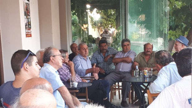 Ενημερωτικές συναντήσεις Σωκράτη Βαρδάκη σε Έμπαρο και Ψαρή Φοράδα