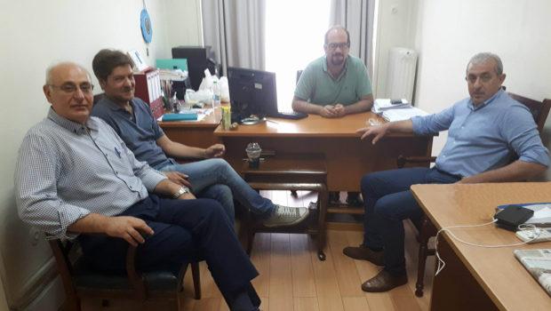 Συνάντηση του Σωκράτη Βαρδάκη με τον Δήμαρχο Βιάννου στο Υπουργείο Εσωτερικών