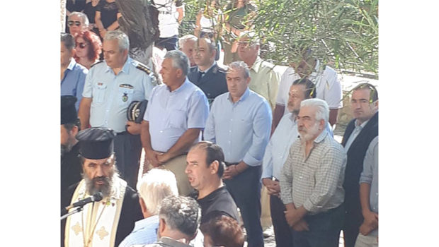 Στις εκδηλώσεις για τους εκτελεσθέντες στο Ρούβα ο Σωκράτης Βαρδάκης