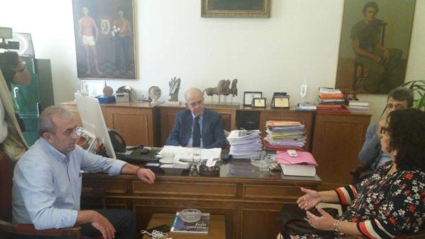 Υπογραφή σύμβασης χρησιδανείου Δήμου Ηρακλείου με ΟΑΕΔ