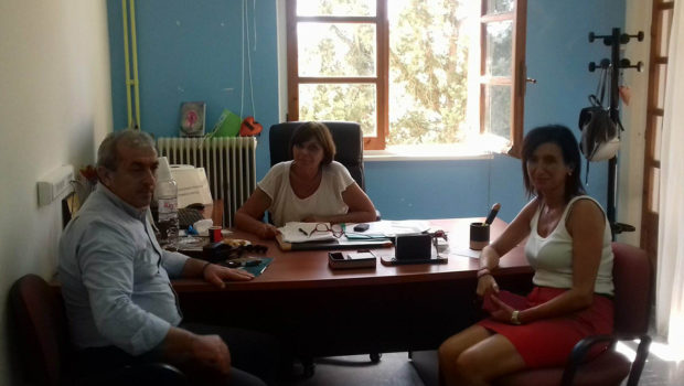 Στο Παράρτημα Αποθεραπείας και Αποκατάστασης Παιδιών με Αναπηρία Ηρακλείου (Π.Α.Α.Π.Α.Η.Κ.) ο Σωκράτης Βαρδάκης