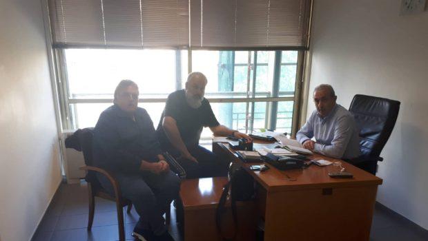 Συνάντηση Σωκράτη Βαρδάκη με εκπροσώπους εργαζομένων στην καθαριότητα του Δήμου Ηρακλείου
