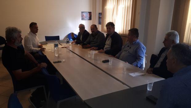 Ο εκσυγχρονισμός των ΤΟΕΒ στο επίκεντρο της συνάντησης του Σωκράτη Βαρδάκη στο Υπουργείο Αγροτικής Ανάπτυξης