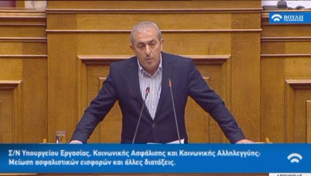 Σωκράτης Βαρδάκης: «Το δικό μας μνημόνιο όχι μόνο δεν κόβει συντάξεις, αλλά δημιουργεί προοπτικές μεγαλύτερης ανάπτυξης και μέτρα ανακούφισης πάνω από 1 δισεκατομμύριο ευρώ. Είναι το δικό μας μνημόνιο, που υποσχεθήκαμε στον ελληνικό λαό και το κάναμε πράξη»