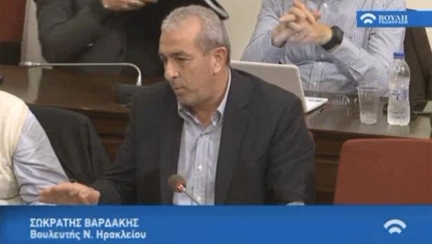 Σωκράτης Βαρδάκης: «στόχος μας οι θετικές παρεμβάσεις που θα έχουν αντίκρισμα στους ασφαλισμένους και συνταξιούχους»